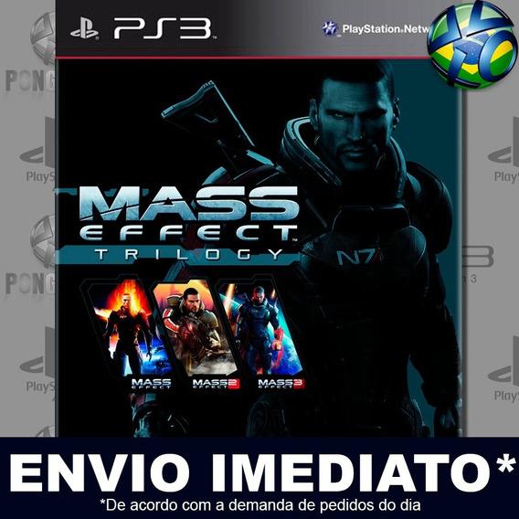 Mass Effect Trilogy Ps3 Psn Jogo Em Promoção Pronta Entrega