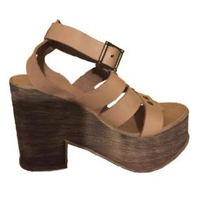 Sandalia Con Tacón Zapato Mujer Zappa Talla 36