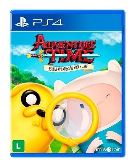 Adventure Time - As Investigações De Finn E Jake - Ps4
