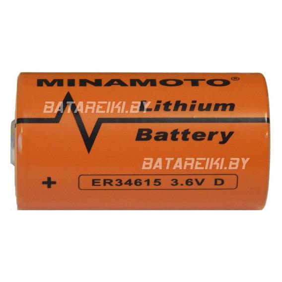 Bateria Pilha Lithium Er34615 3,6v 19000mah Size D Minamoto
