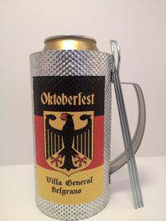 Chopp Guiro Portalata Cerveza 500ml Con Peineta Oktoberfest