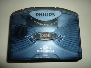Walkman Reproductor De Cassette Y Radio Philips Aq6591