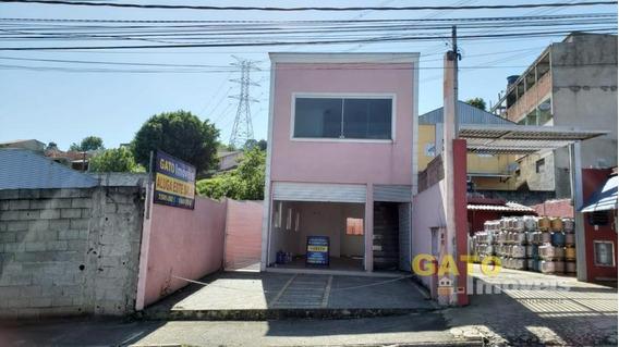 Salão Comercial Para Locação Em Cajamar, Portais (polvilho) - 18115_1-1035416