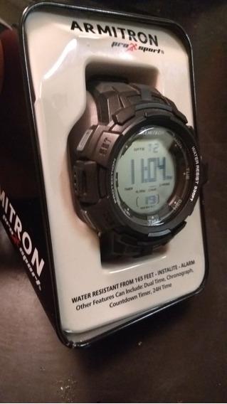 Reloj Armitron 40/8373 En Color Negro * Envio Gratis*