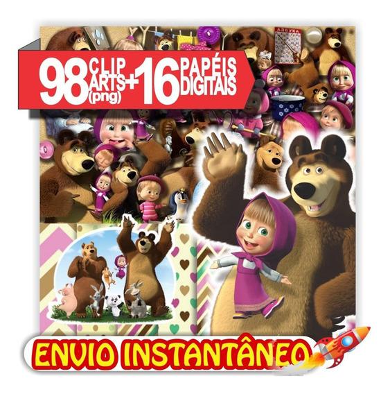 Combo Masha E O Urso 98 Imagens Png Para Arte Personalizada
