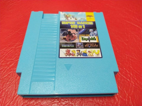 143 In 1 Nintendo 8 Bits (com Bateria)