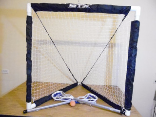 Porteria Red Para Practicar Jugar Lacrosse Stx Niños H641