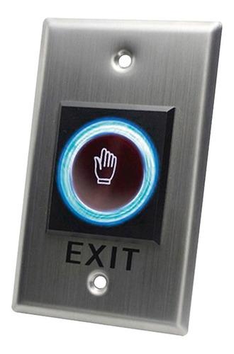 Imagen 1 de 4 de Botón Salida Sin Contacto/ Sensor Ir/ Iluminado/ N O / N C