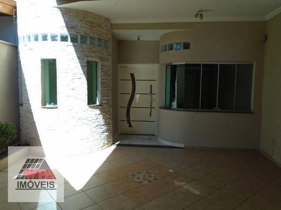 Casa Com 4 Dormitórios Para Alugar, 218 M² Por R$ 2.900,00/mês - Residencial Jacira - Americana/sp - Ca2486