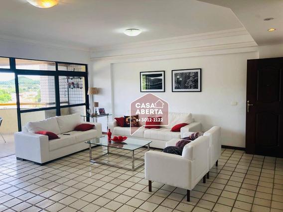 Apartamento Com 3 Dormitórios À Venda, 197 M² Por R$ 590.000,00 - Lagoa Nova - Natal/rn - Ap0024