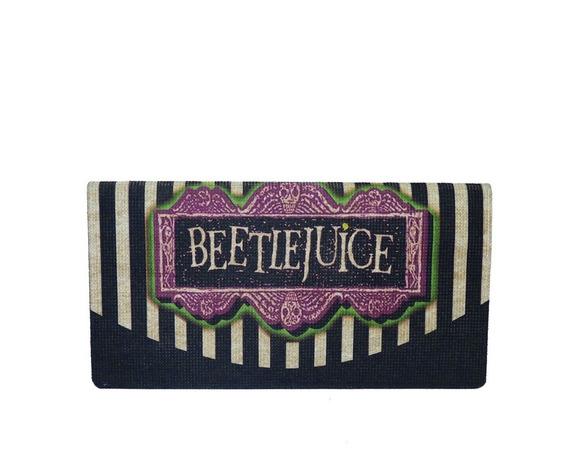 Carteira Beetlejuice Vegana Moderna Pet