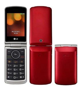 Celular Lg G360 Dual Sim Flip Tela 3.0 Câmera Rádio Fm