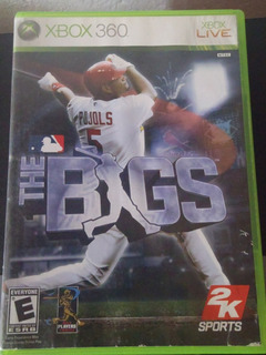 Juego Xbox 360 Beisbol The Bigs Original Impecable