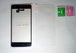 Tela Touch + Pelicula De Vidro - Oukitel K6000 Pro - Preto