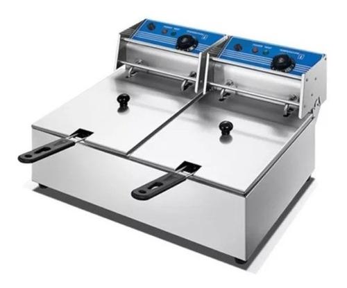 Fritadores Fritador Electrico Kuma 2 Cubas 10l+10l - Fama