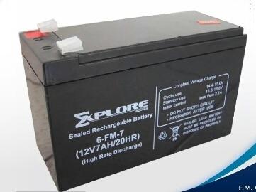 Bateria Para Ups 12v/ 7 Amp ExploreTrabajamos Con Zelle