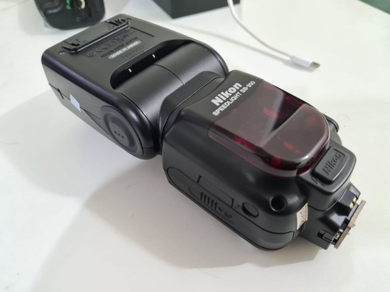 Kit Flash Nikon Sb-900 + Grip Bg-2n + Cartão De Memória 32gb