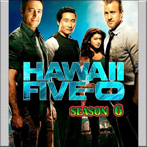 Imagem 1 de 3 de Hawaii Five-0 6ª Temporada - 8 Dvds [ Dublado E Legendado]