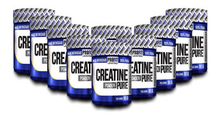 10x Creatina Powder Pure 90g Cada - Profit