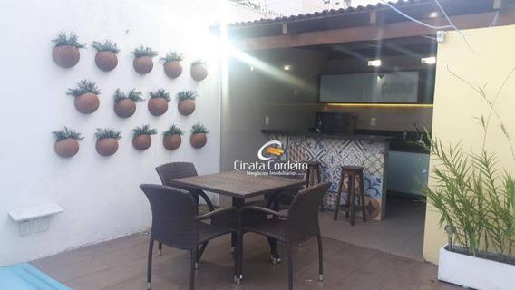 Apartamento Garden Com 2 Dormitórios À Venda, 121 M² Por R$ 320.000,00 - Bessa - João Pessoa/pb - Gd0073