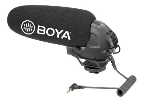 Imagem 1 de 4 de Microfone Boya By-bm3031 Para Câmera Dslr