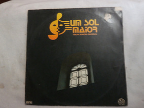 Lp Um Sol Maior - Nacional, Vinil Da Novela Da Tv Tupi, 1977