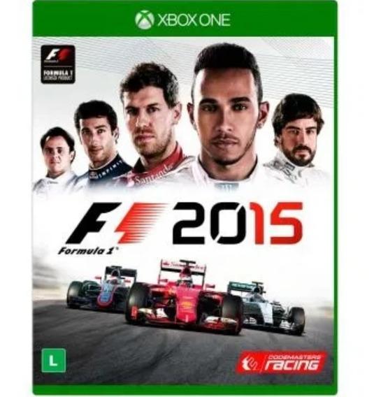 Jogo Xbox One F1 2015 Mídia Física Lacrado De Fábrica (novo)