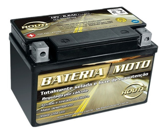 Bateria Moto Route Xtz10s Kawasaki Zx-10 Rr / Zx10 Rr 8,6ah
