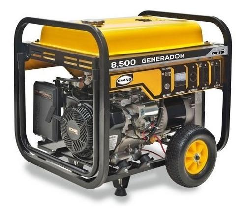 Imagen 1 de 4 de Generador 8500 W 14 Hp Kohler Planta De Luz Evans G85mg1400k