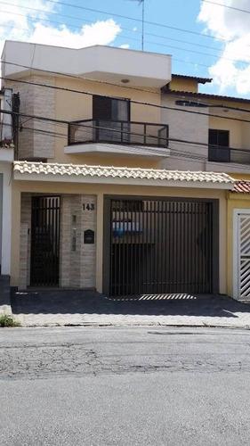 Excelente Sobrado  Jardim Das Figueiras - So0313