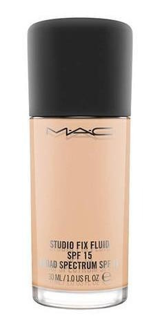 Studio Fix Fluid Spf 15 Foundation Nc25 Mac 30 Ml, Cobertura