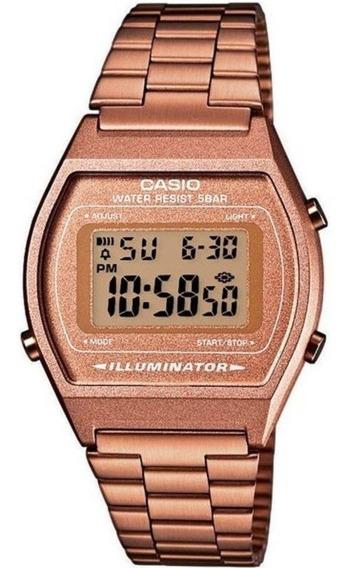 Relógio Casio Vintage Digital B640wc-5adf Rose Garantia + Nf