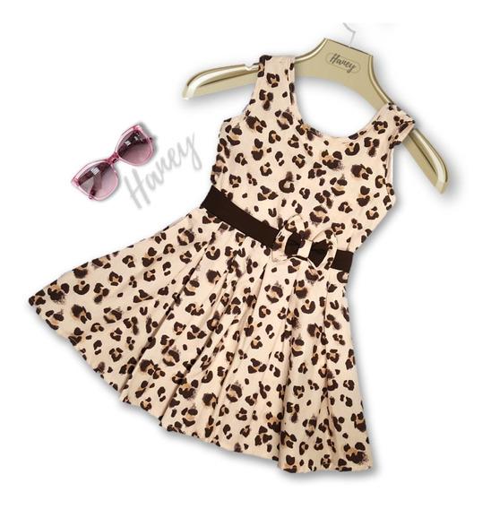 Vestido Infantil Feminino Menina Casual Roupa De Ticoline Tam 4 6 8