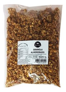 Granola Energetica Almendrado Avena Grana Salvado Miel 1kg