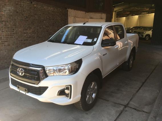Toyota Hilux Sr 4x4 2.8 Tdi Doble Cabina Pedila Ya 2020 Ps
