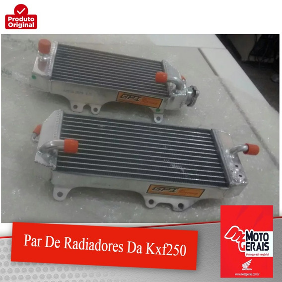 Par De Radiadores Da Kxf250-original Honda-2014