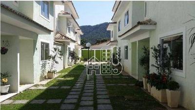 Casa Residencial Para Venda E Locação, Serra Grande, Niterói - Ca0447. - Ca0447