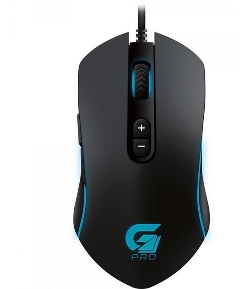 Mouse Gamer Fortrek Pro M7 4800dpi Rgb Fortrek-m7