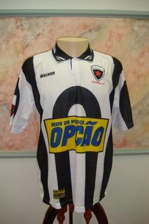 Camisa Futebol Botafogo Paraiba Wecker Jogo Antiga 1086