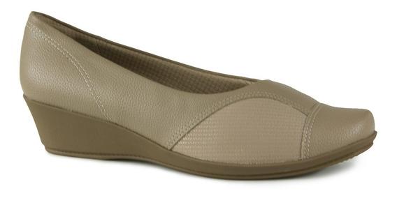 Sapato Anabela Feminino Piccadilly 144062 - Joanete