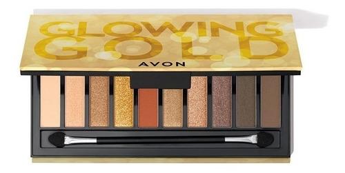 Avon No Bbb - Paleta De Sombras - Glowing Gold