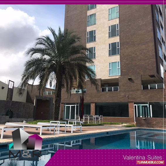 Apartamento En Alquiler Conj Res Valentina Suites M&r- 163