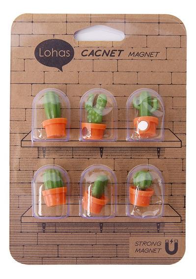 Set 6 Imanes Cactus