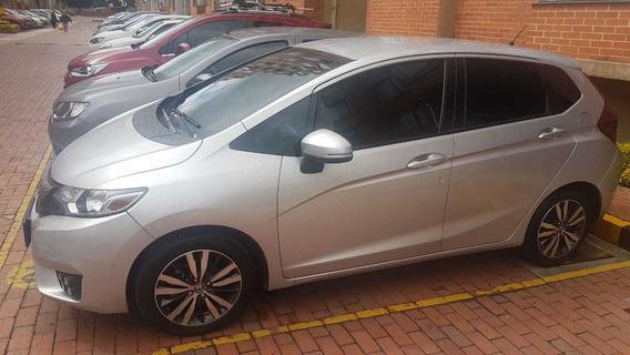 Honda Fit Ex Aut. 2015 Plata Alabaster