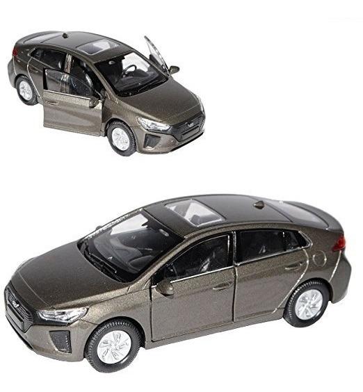 Auto Hyundai Ioniq Esc1:36 Coleccion Metal