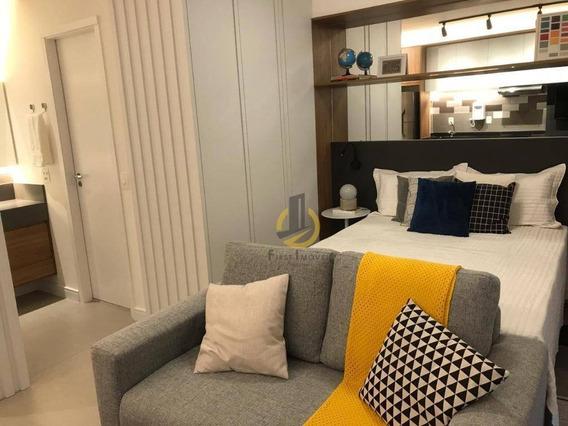 Oportunidade -studio Com 1 Dormitório À Venda, 35 M² Por R$ 725.000 - Consolação - São Paulo/sp - St0007