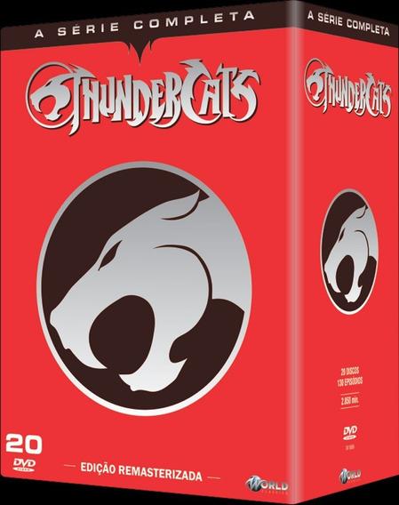 Box Dvd Original Coleção Thundercats Novo E Lacrado!