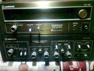 Amplificador Y Sintonizador Audinac