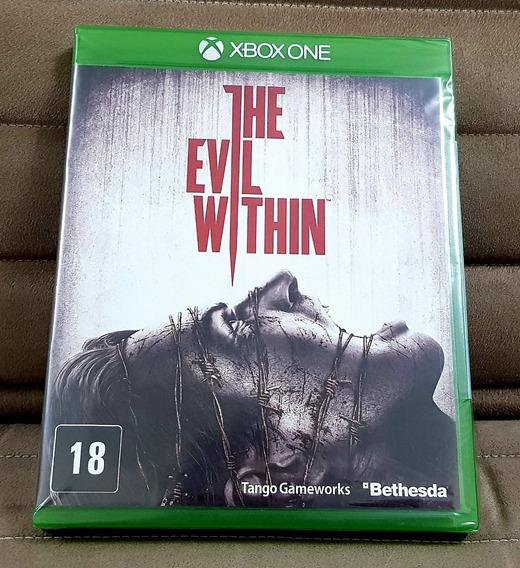 Xbox One The Evil Within ( Mídia Física ) ( Inglês ) Lacrado