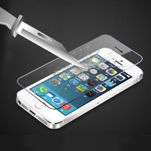 Protector Pantalla Vidrio Templado Apple iPhone 5 5s 5c